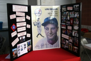 Lou Gehrig display